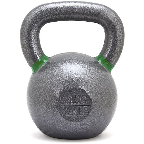 Solid Cast Iron Kettlebell Set 12/16/20/24kg for Crossfit, Strength, Conditioning Training