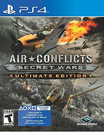 f07274803d44b Air Conflicts: Secret Wars - PlayStation 4: PlayStation 4: Computer ...