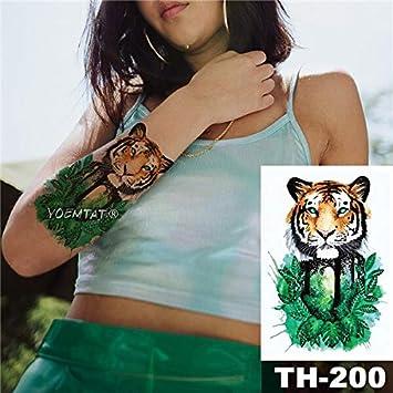 HXMAN 5 Unids Impermeable Tatuaje Temporal Pegatina Pequeña Flor ...
