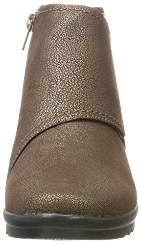 Caddell Rush Para bronze Plateado Altas Zapatillas Mujer Clarks w7d5xAPqw