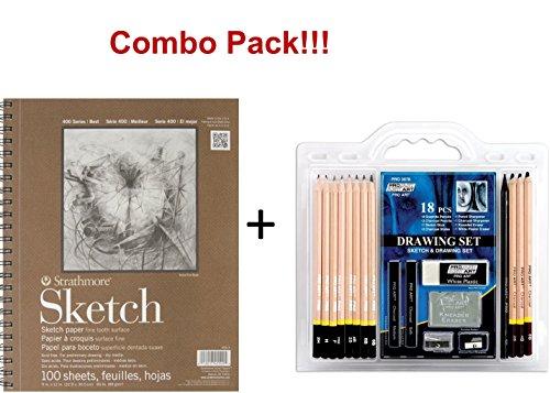 sketch draw pencil set - 4