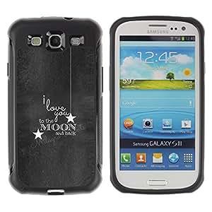 "Pulsar iFace Series Tpu silicona Carcasa Funda Case para Samsung Galaxy S3 III I9300 , Cita Gray Textura de madera blanca"""
