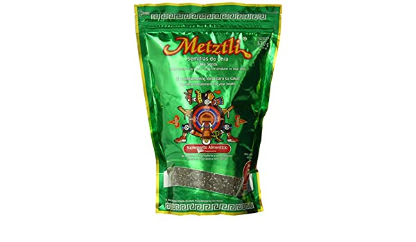 Amazon.com : Metztli Chia Seeds, 13.02 Ounce : Edible Seeds : Grocery & Gourmet Food