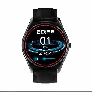 Reloj inteligente SmartWatch Reloj Deporte Bluetooth, inteligente pulsera conectable frecuencia cardíaca rastreador Bluetooth Sport Relojes, compatible para ...