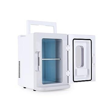 VOKUA - Mini nevera refrigerador y calentador eléctrico (10 litros/12 latas),