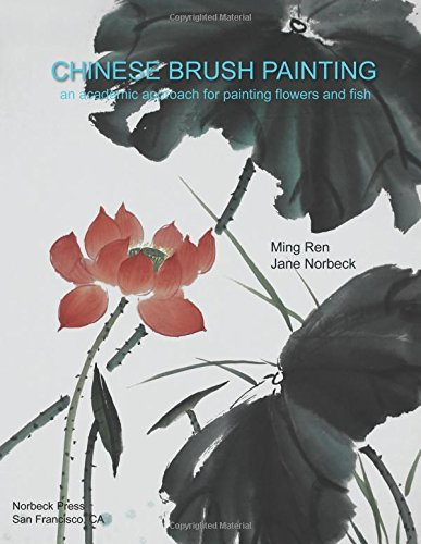 Chinese Brush Painting: An Academic Approach for Painting Flowers and - Brush Ink Painting