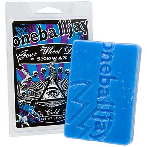 OneBallJay 4WD Wax Cold, 60g - Avalanche Snowboards 150