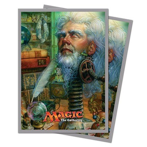 MAGIC THE GATHERING: UNSTABLE URZA, ACADEMY HEADMASTER - STANDARD SIZE CARD SLEEVES (120CT) by Ultra Pro