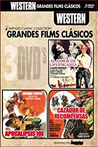 El Sabor de la Venganza + Apocalipsis Joe + El Cazador de Recomp [DVD]