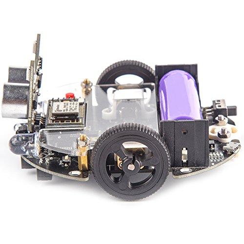 [DenDen]KittenBot Mini Programmable Robot Kit - Scratch 3 0 - Support  Python Program - STEM Education - Arduino - Programmable Robot Kit for Kids  to