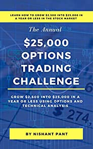 $25K Options Trading Challenge: Proven techniques to grow $2,500 into $25,000 using Options Trading and Techni