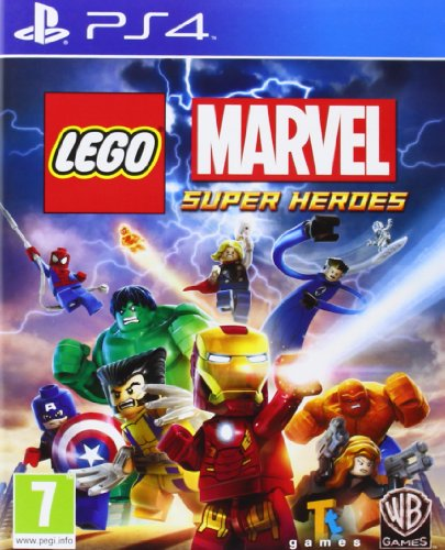 Lego Marvel Super Heroes Sony Playstation 4 PS4 Game UK