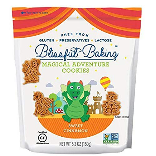 Cinnamon Gluten Free Cookies - Blissful Baking Magical Adventures Sweet Cinnamon Cookies, 5.3 Ounce (Pack of 6)