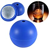 ONEDONE Death Star Ball Ice Cube Mold Silicone Tray -2Pack
