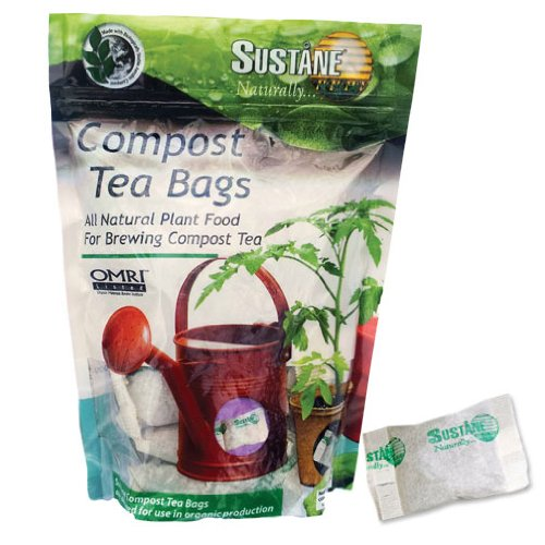 Sustane 4-6-4 Compost Tea Bag Fertilizer