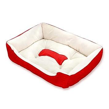 Amazon.com: WWbaofu cama para perro/colchón de lujo para ...