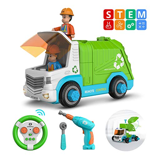Top 10 best trash truck toys for boys for 2020