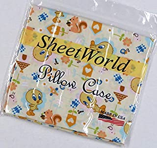 product image for SHEETWORLD.COM Tweety Cream Cotton Baby Pillow Case