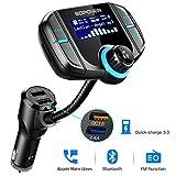 ABOX Bluetooth FM Transmitter for Car