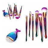 Oceaneshop 8Pcs Hot Hot Sale Beauty Eyeshadow Contour Foundation Eye Lip Makeup Tool Powder Brush Set