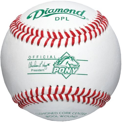 Diamond Pony League Tournament Grade Baseball, Dozen (League Baseball Grade Pony)
