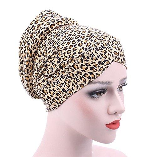 Price comparison product image Litetao Muslim Stretch Turban Chemo Hair Loss Head Scarf Multi Purpose Wrap Hijab Cap (E)