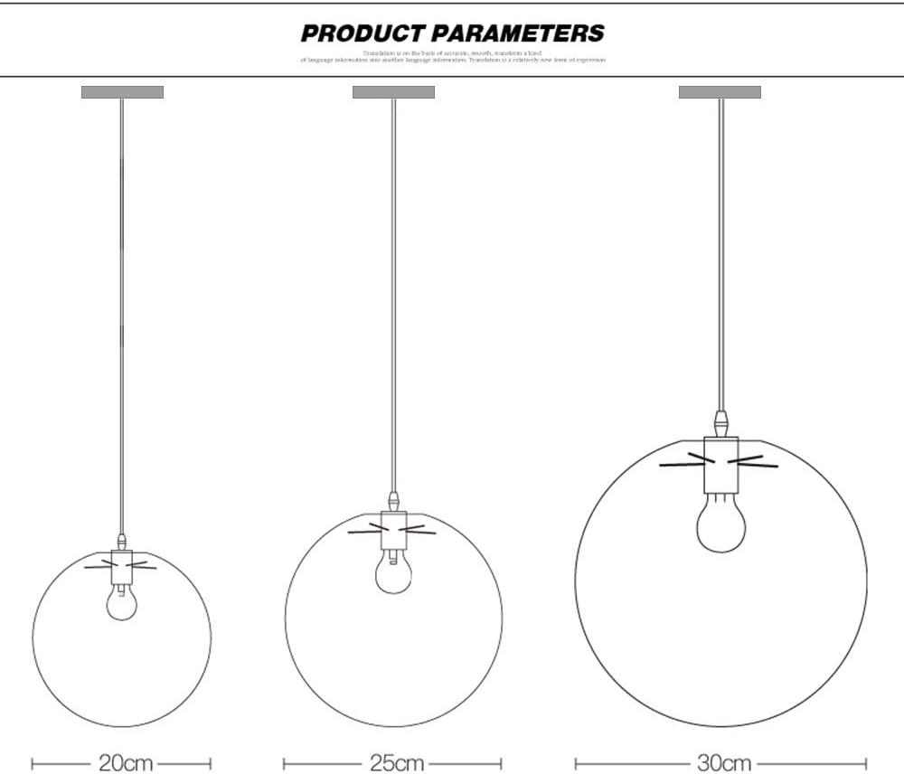 luminaire Industriel E27 Suspension Transparent Lampe Laiton Or T/ête Suspension Industrielle 20cm Wings of wind