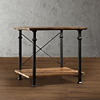 Metro Shop TRIBECCA HOME Myra Vintage Industrial Modern Rustic End Table