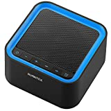 #6: AVANTEK Portable White Noise Sound Machine with 20 Soothing Sounds, 30 Levels of Volume and Maximum 7-Hour Timer Setting
