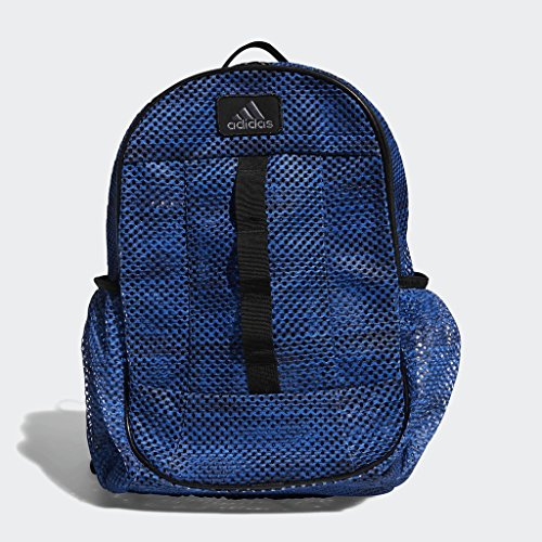 - adidas Hermosa Mesh Backpack, Med Blue, One Size