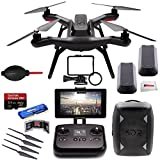 3DR Solo Quadcopter (No Gimbal) + 3DR Backpack + Extra 3DR Smart Battery + Extra 3DR Propeller Set + SanDisk 32GB Extreme PRO microSDHC Memory Card + High Speed All-in-1 Card Reader + More!!!