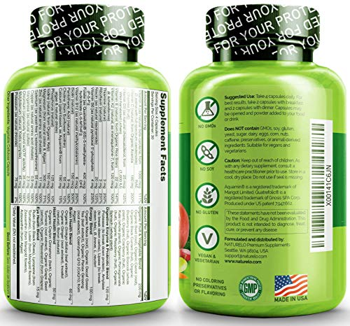 Naturelo Whole Food Multivitamin For Men With Natural