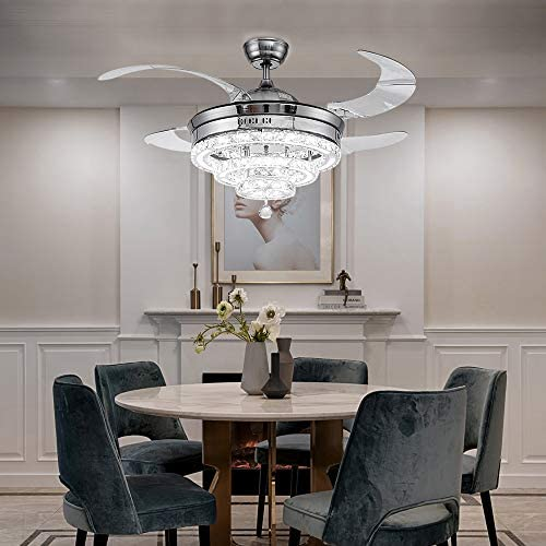 TFCFL Crystal Ceiling Fan