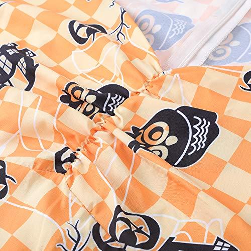 Floreale OTEN Partito Rockabilly Stampa Cranio Owl Donne Vintage Vestito EExnrqa7