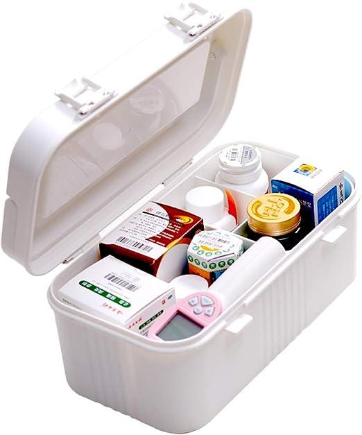 QXTT Caja Botiquin Casa Caja De Medicamentos Caja Maquillaje Botiquín Caja De Almacenamiento De Plástico Botiquin De Primeros Auxilios: Amazon.es: Hogar