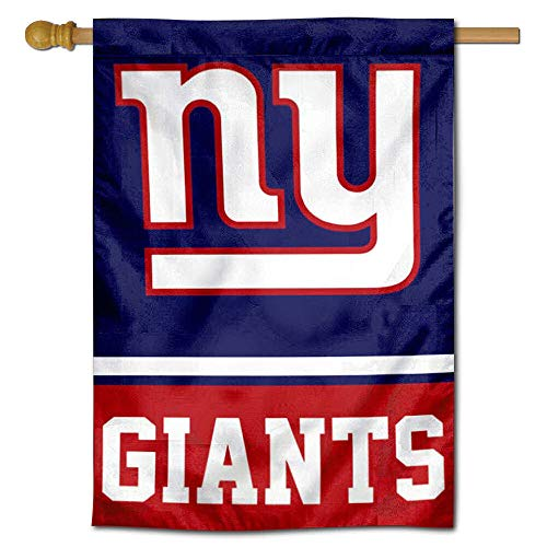 WinCraft NY Giants Two Sided House Flag ()