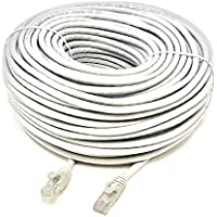 50 Meter RJ45 CAT6 ETHERNET LAN NETWORK Grey CABLE