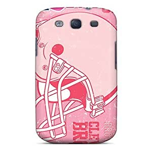 Awesome Cleveland Browns Flip Case With Fashion Design For Galaxy S3