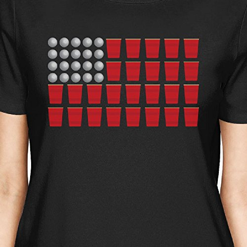 365 o de Camiseta Printing tama manga para mujer corta rO8rqwx
