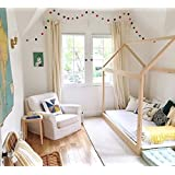 House Bed Frame Twin Size (deluxe version) PREMIUM WOOD