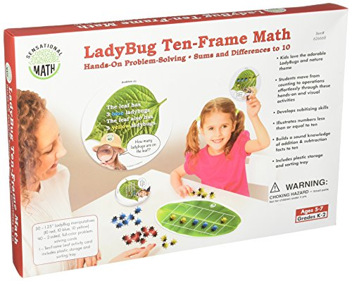 Essential Learning Products Ladybug Ten-Frame Math Aid ()