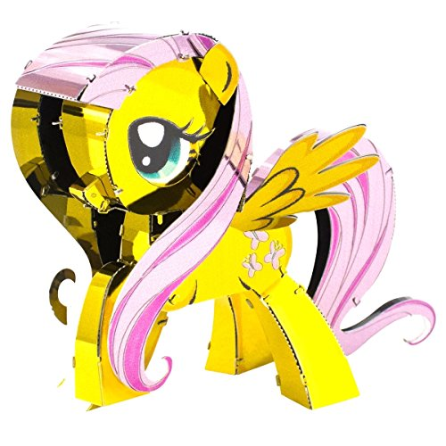 Fascinations Metal Earth 3D Metal Model Kits My Little Pony Complete Set of 6 Applejack - Fluttershy - Pinkie Pie - Rainbow Dash - Rarity - Twilight Sparkle by Fascinations (Image #2)