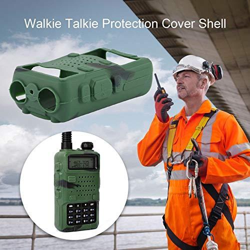 Peanutaor Coque de Protection en Caoutchouc Silicone pour Coque de Protection pour Radio bidirectionnelle F8 UV 5R UV-5RE DM-5R