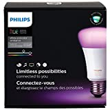 Philips Hue  A19 Starter Kit Colour (Gen 3)(Compatible with Apple Home Kit and Google Assistant)