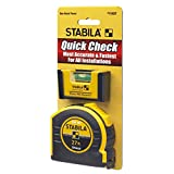 Stabila Quick Check Measuring Tape 27' + Pocket PRO Plus Level