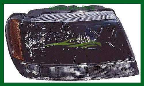 02-04 Grand Cherokee Laredo Head Light Lamp Right Passenger