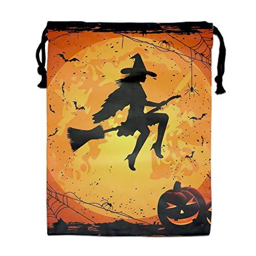 Unisex Halloween Full Of Bats Drawstring Backpack Travel Bag For Men Women for $<!--$12.88-->