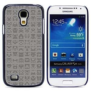Graphic4You ALIEN SYMBOLS PATTERN HARD CASE COVER FOR Samsung Galaxy S4 Mini