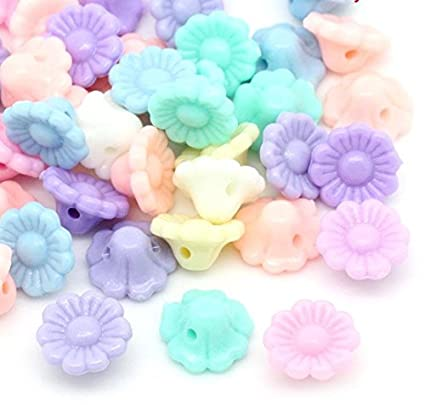 25 x Small Heart Buttons Approx 11mm 2 Hole Baby Buttons New Colours Added