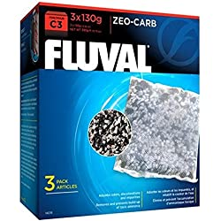 Fluval C3 Zeo-Carb - 3-Pack